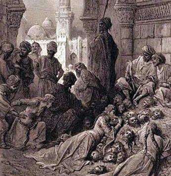 muhammad-the-prophet-muslims-slaughter-banu-qurayza-jewish-tribe
