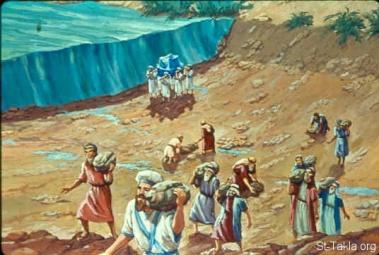 Image result for israel crosses jordan